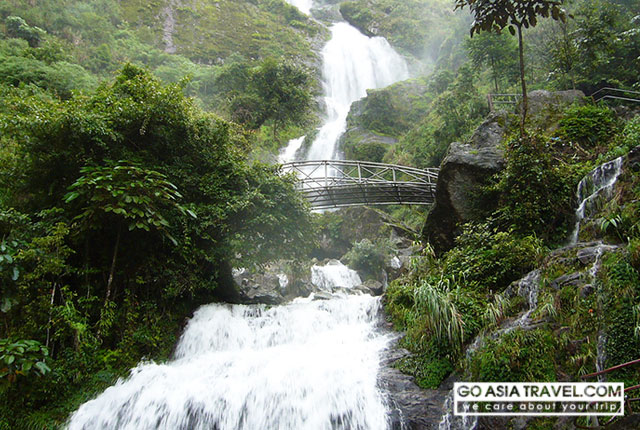 Silver Waterfall - Thac Bac